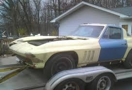 corvette project for sale hemmings find of the day 1966 chevrolet corvette hemmings daily