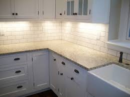subway tile backsplash for kitchen kitchen basement white mini subway tile kitchen ideas backsplash
