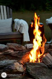 Backyard Campfire Homemade Fire Starters Backyard Fire Pit Safety Reminders