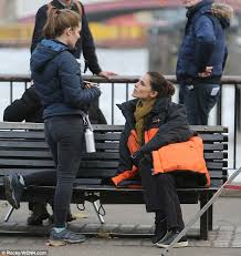 What Is A Bench Shirt Charlotte Riley Shoots Scenes For Bbc Drama Press Daily Mail Online