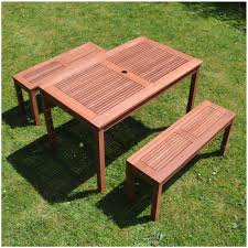 Patio Table Size Chair Wood Patio Table And Chairs Set Outdoor Patio Table And