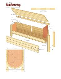 Plans For A Wooden Bench With Storage by 337 Best Diy Outdoor Furniture Images On Pinterest Garden