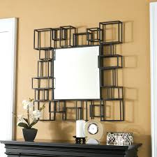 home wall decoration ideas bedroom endearing square mirror wall decor funlife tm diy