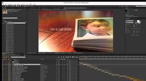 insta photos slideshow after effects template overview tutorial