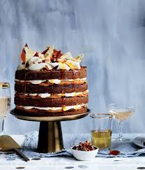 the gourmet traveller 50th birthday cover cake ginger whiskey