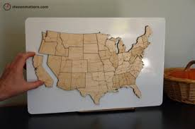 us map puzzle wood back to school wooden usa puzzle