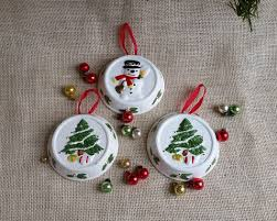 snowman ceramic ornament tree ceramic ornaments set of 3