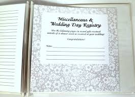 gift registry ideas wedding pressed clovers shower registry book great gift idea