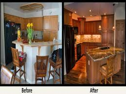 Kitchen Remodel Ideas Before And After Beautiful Small Kitchen Remodel Before And After Design Idea And
