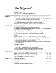 Examples Of A Resume Profile by Download A Professional Resume Haadyaooverbayresort Com