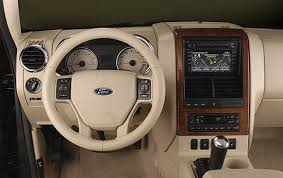 Ford Explorer Dashboard - 2009 ford explorer sport trac information and photos zombiedrive