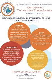 ft lauderdale chamber of commerce cdtc s thanksgiving basket