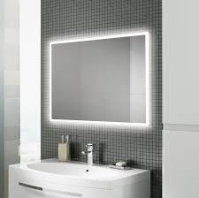 Bathroom Mirror Heated by Globe 60 Mirror Hib