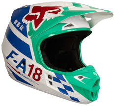 motocross helmets fox fox racing youth v1 sayak helmet cycle gear