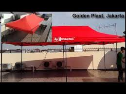 Tenda Lipat Ukuran 3x3 terjual tenda lipat american matic 2x2 2x3 3x3 3x4 5 dan 3x6