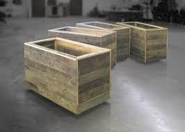 28 best reclaimed wood raised planters images on pinterest