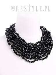 black bead collar necklace images Laura choker quot black beadec necklace gothic choker spiderweb jpg