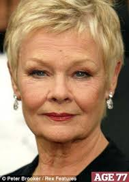 how to get judi dench hairstyle frozen in time we mere mortals show our years yet strangely