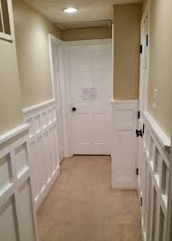 Paint Wainscoting Ideas How To Install Board And Batten Wainscoting White Painted Square