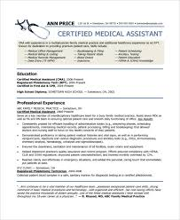 sample phlebotomy resume medical assistant resume 9 free sample example format free