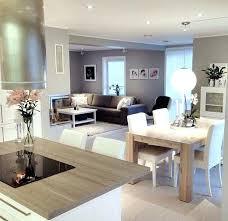 cuisine ouverte sur s駛our luxury decoration salon sejour cuisine ouverte ensemble cour arri