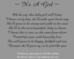 baby girl poems miscellaneous poems fjj creations