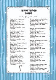 i saw three ships kids video song with free lyrics u0026 activities