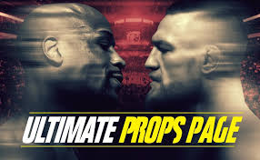 the ultimate mayweather vs mcgregor betting props page odds shark