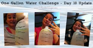 Challenge Of Water One Gallon Water Challenge Day 10 Slender