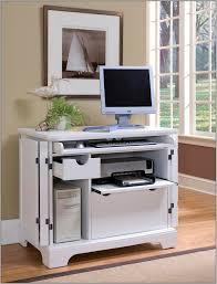 small white corner computer desk desk home design ideas