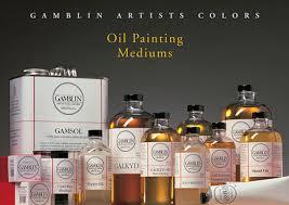 gamblin oil painting medium set the paint spot