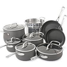Cuisinart Dishwasher Safe Anodized Cookware Contour 13 Pc Hard Anodized Cookware Set