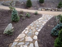 rock sidewalk landscaping ideas pinterest sidewalk