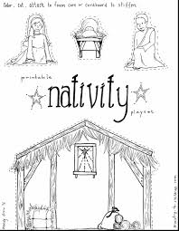 nativity coloring pages printable coloring pages