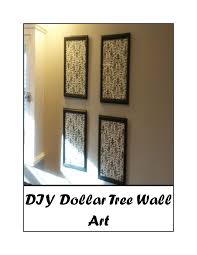 stay at home mom with money saving tips dollar tree wall decor