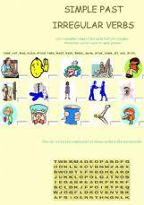 esl english exercises simple past irregular verbs