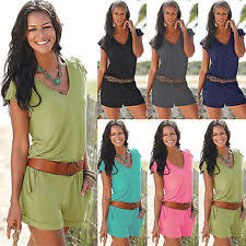 jumpsuit shorts womens jumpsuit ebay