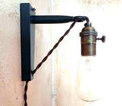 swag lights that plug into the wall pendant light plug in inspirational hanging plug in l for