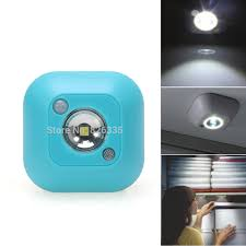 light and battery store mini led wireless night light motion activated sensor lights battery