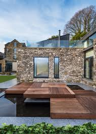 bennetts associates u0027 cumbrian house combines stone with zinc