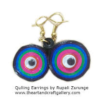 quilling earrings images quilled earrings the and craft gallery