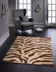 Brown Zebra Area Rug Stylish Zebra Area Rug Home Ideas Collection Beautiful Zebra