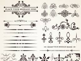 ornaments elements vector border graphic 03 free vectors ui