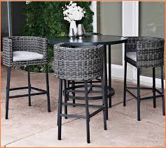 High Patio Chairs Patio Astounding Outdoor High Top Table And Chairs Intended For