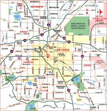 map us denver road map of denver metro denver colorado aaccessmaps