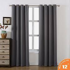 Grommet Blackout Drapes Amazlinen Sleep Well Blackout Curtains Toxic Free Thermal