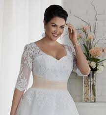 plus size wedding dresses with sleeves tea length lace wedding dress with sleeves plus size naf dresses