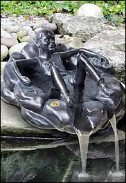 pond ornaments and statuettes water gardening direct