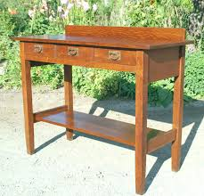 Gustav Stickley Desk Styleture Notable Designs Functional Living Spacesarts