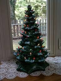 Large Ceramic Christmas Tree Vintage 16